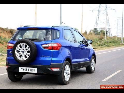 Ford Ecosport Review 'Test Drive' - AutoPortal