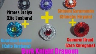 beyblade ベイブレード Gryph Dragoon LW160BSF VS Diablo Nemesis X:D