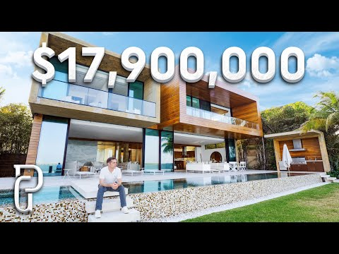 Inside an $17.9 Million Dollar Ultra Modern Mansion in Miami, Florida | Propertygrams Mansion Tour
