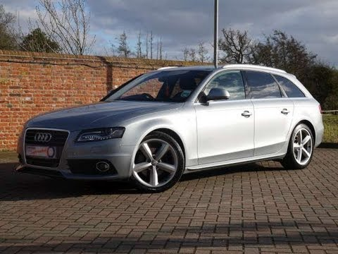 2009 audi a4 avant s line 2 0tdi 143 grey for sale in. Black Bedroom Furniture Sets. Home Design Ideas