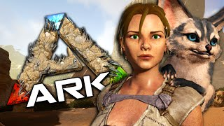 A SCORCHED DESERT - Taming a Jerboa - ARK Scorched Earth Gameplay #1