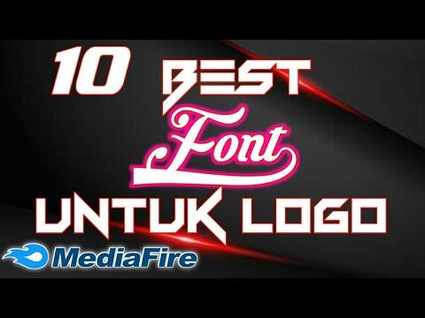 Kumpulan font keren untuk logo  yang sering digunakan editor untuk membuat logo atau watermark |.