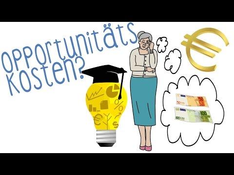 Opportunitätskosten - einfach erklärt!