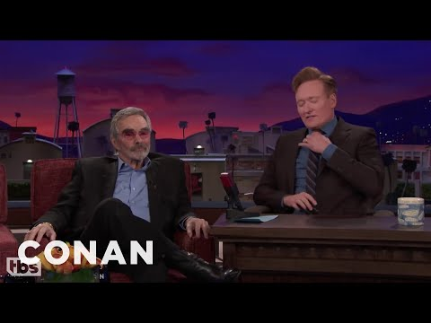 Burt Reynolds Was Plastered During His Infamous Nude Photoshoot   CONAN on TBS