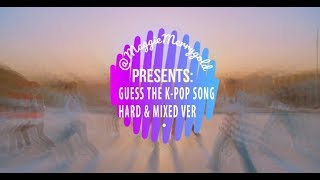 Download Video Guess The Kpop Song (Hard and Mixed Ver 2018) MP3 3GP MP4