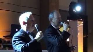 Surprise Wedding Song by Fathers of Bride and Groom to tune of Leonard Cohen's