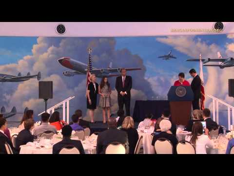 GE Reagan Foundation Scholarship Awards Dinner — 6/28/14