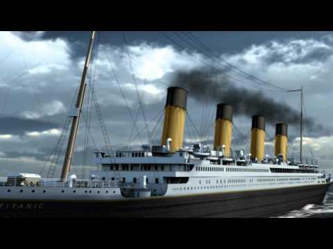 "Titanic 3D animation CGI ""RMS Titanic"""