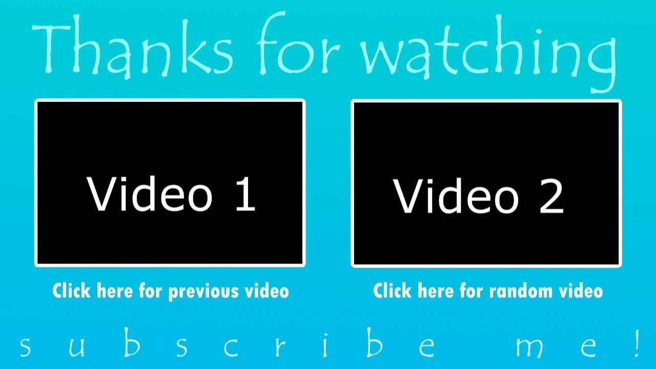 2 free outro template sony vegas pro 11 12 13 youtube
