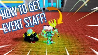 HOW TO GET NEW EASTER EVENT STAFF IN BOKU NO ROBLOX REMASTERED
