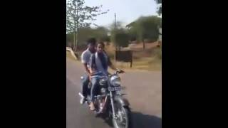 Bullet riding by wife