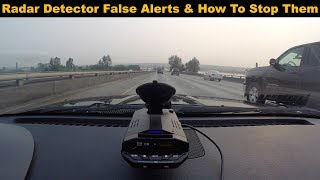 Why Your Radar Detector Has False Alerts & How to Fix Them