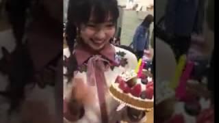 村瀬紗英(さえぴぃ)誕生日にメンバーがサプライズ!