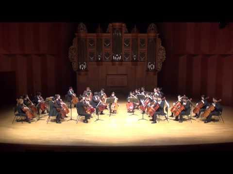 L v Beethoven - 'Egmont overture' (KNUA CELLO ENSEBLE)