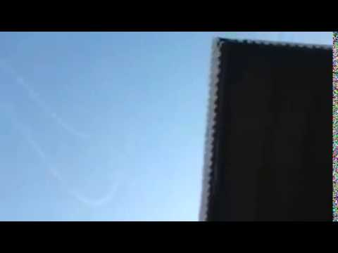 וידאו מטורף של כיפת ברזל מיירטת 15 טילים במקביל