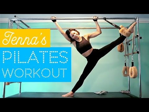 Workout With Me | My Pilates Routine | Jenna Dewan