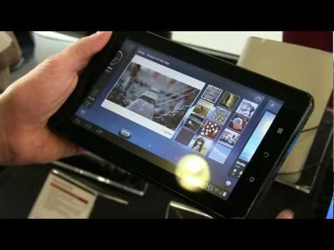 futurezone.at @ MWC 2012: Viewsonic Android Tablets