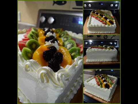 tres leches cake (the making)