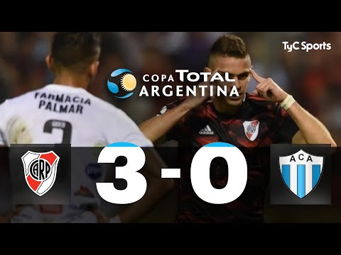 River venció 3 a 0 a un digno Argentino de Merlo y sigue en la Copa Argentina