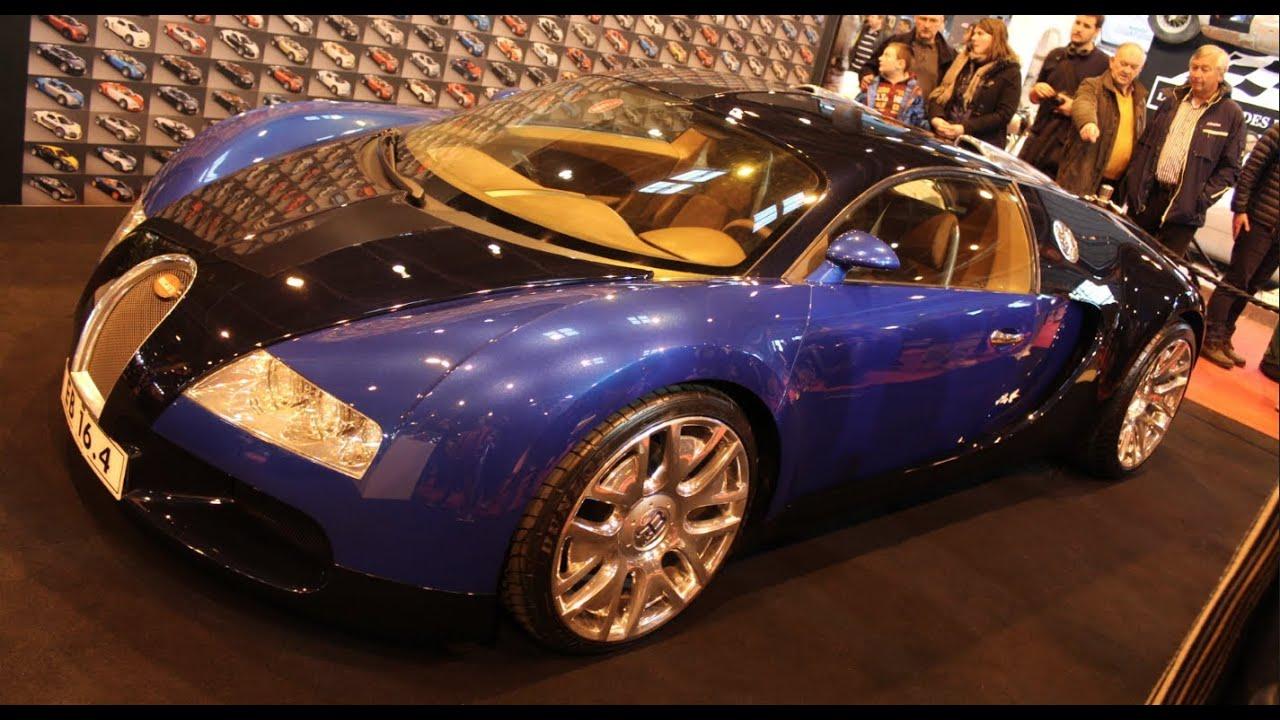unique bugatti veyron 18 4 concept retromobile 2014. Black Bedroom Furniture Sets. Home Design Ideas