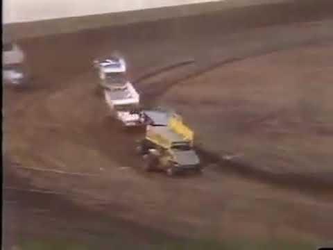 Mike Sargent - San Jose Speedway - Last Lap Win - (1988)