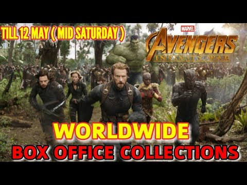 AVENGERS INFINITY WAR WORLDWIDE BOX OFFICE COLLECTION TILL 12 MAY 2018 | BEATS BLACK PANTHER