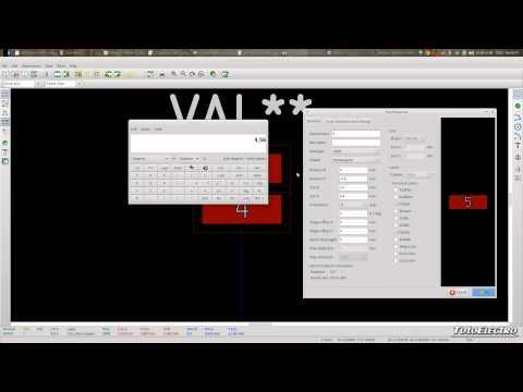 Tutorial de Kicad 16, Creación de Módulos (Footprints)