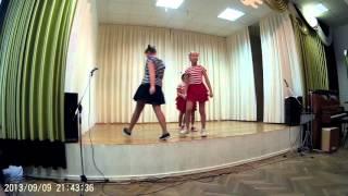 """Танец """"Большая перемена"""". Танцевальная студия """"Эдельвейс""""."""