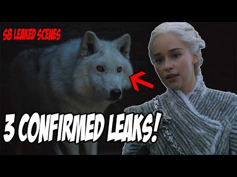 3 Confirmed LEAKS! Game Of Thrones Season 8 (Leaked Scenes)