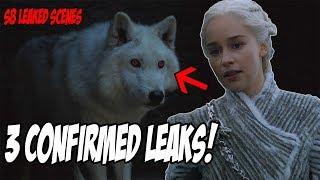 3 Confirmed LEAKS! Game Of Thrones Season 8 (Leaked Scenes)