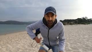 Металлоискатель на смартфоне / проверка на пляже 2