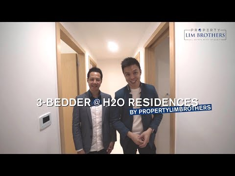 H2O Residences, 3-Bedder, 1130sqft, Singapore Condo Property for Sale - PropertyLimBrothers Propnex