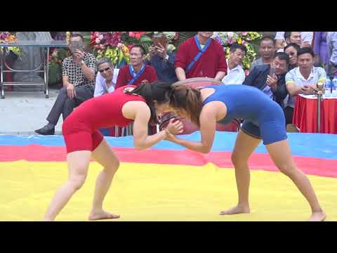 👍 Trận Đấu Đỉnh Cao của Đô Vật Nữ Thừa Thiên Huế  ❤️ Beautiful female wrestlers playing too well