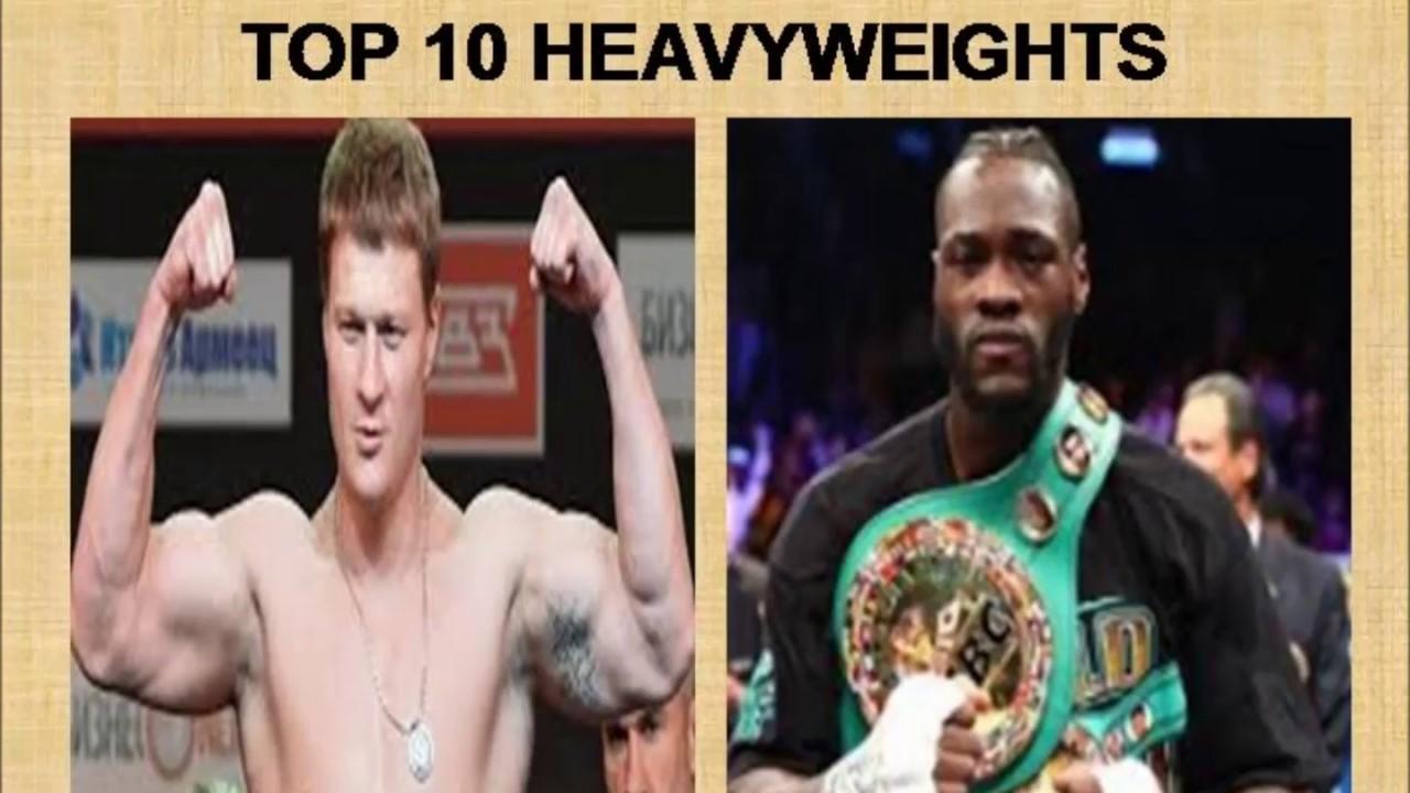 JUNE 2019 TOP 10 HEAVYWEIGHTS