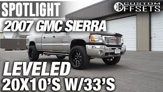 Spotlight - 2007 GMC Sierra 2500HD, Leveled, 20x10, 33's
