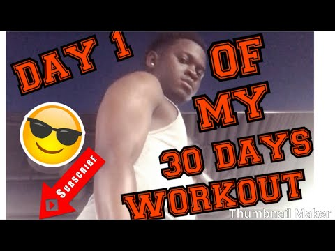 30 Days Workout Challenge (DAY 1)