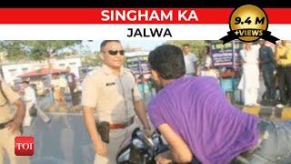 Patna's Singham Cop Goes 'viral' - TOI
