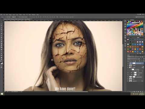 Create Realistic Cracked Skin Using Photoshop