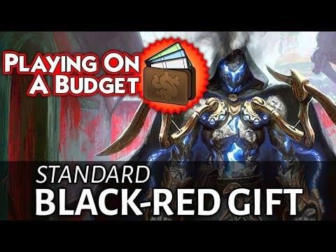 Budget Standard: Black-Red Gift - Under $120!