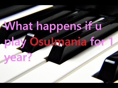 b510fb81ea7 What happens after you play osu!mania for 1 year? - YouTube
