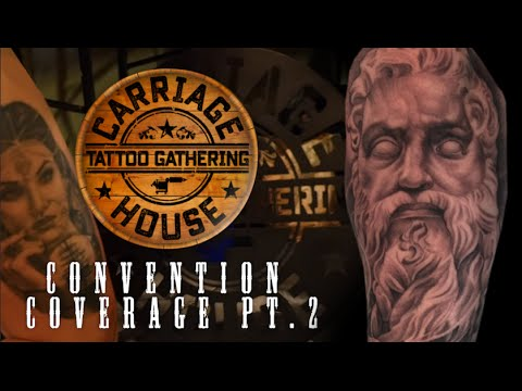 Tattoo Convention Coverage - Carriage House 2016 | Part 2