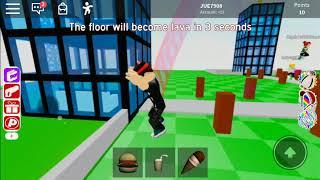 EXPERT MODE FLOOR IS LAVA!! 😱 ( ROBLOX Floor is Lava )