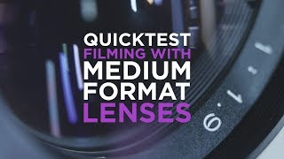 Quickie: Filming with Medium Lenses on EF mount.