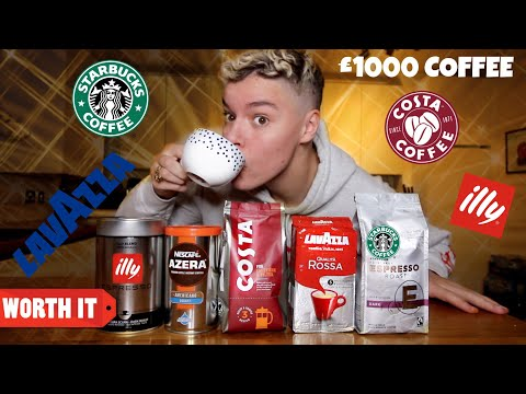 TASTE TESTING DIFFERENT BRANDS OF COFFEE!