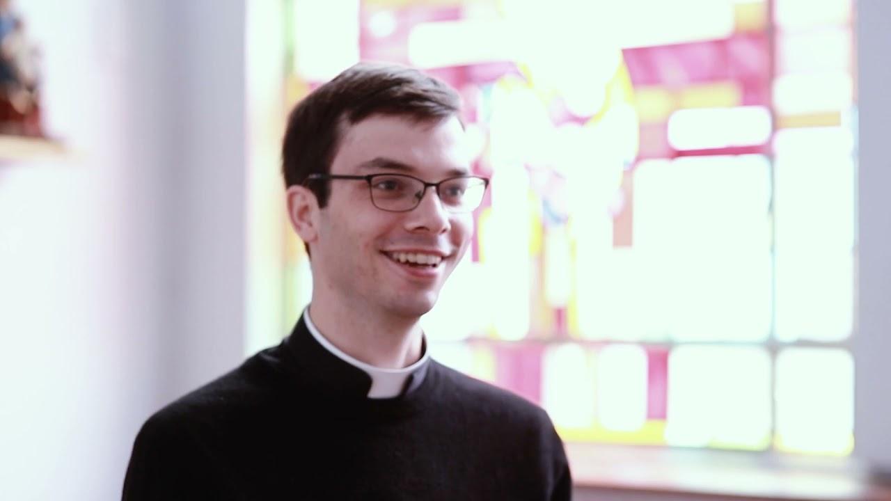 Coeur à coeur avec Augustin Reille, séminariste et diacre à St Jean