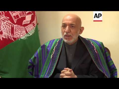Ex Afghan president condemns US MOAB strike
