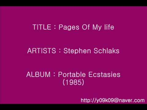 Pages Of My Life - Stephen Schlaks_Instrumental