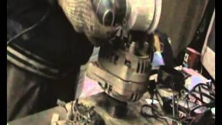 Ремонт генератора ВАЗ 2110. Замена подшипников.