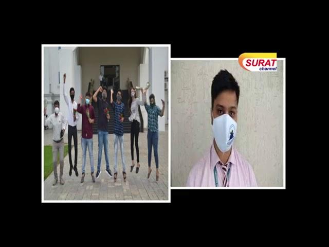 Media Coverage: CBSE XII Result - 2020 (3rd Rank in Surat), Jahangirabad
