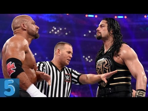 5 WWE WrestleMania Matches That Were Not Supposed To Happen